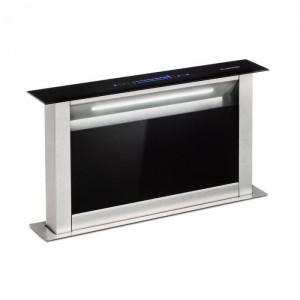 Klarstein Royal Flush Eco, hotă de aspirație, 60 cm, 458 m³/h, A+, negru
