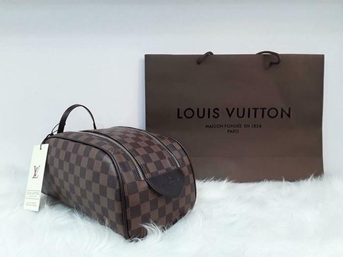 Borseta-geanta de mana/voiaj/fotbal-toiletry bag Louis Vuitton Damier Ebene
