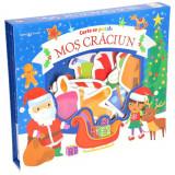 Carte Editura Litera, Carte cu puzzle. Mos Craciun. Bebe invata