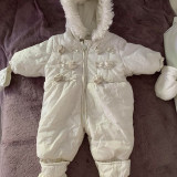 Fas bebe, 1-3 luni, Alb
