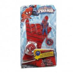Manusa Spiderman pentru copii cu discuri figurina cadou