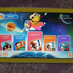 """TABLETA Samsung Galaxy Tab 3 SM-T2105 Kids Yellow - 8GB, 7"""" FUNCTIONALA"""