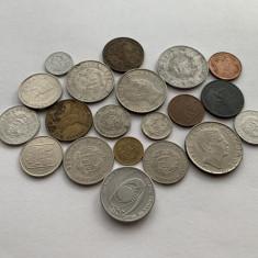 Lot 20 monede Romania, perioada 1942-1999