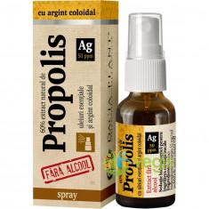 Propolis Cu Argint Coloidal Fara Alcool Spray 20ml