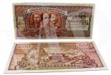 Romania–LOT 10 buc. (reproduceri)-Bancnote polimer placate cu argint 999‰ (L 4)