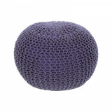 Taburet impletit bumbac violet GL GOBI TYP 2