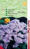 Seminte de flori ,pufuleti (AGERATUM BLUE MINK) , HORTITOPS, 0.3 g
