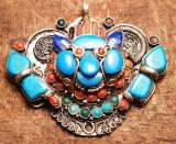 Pandant de argint Nepalez