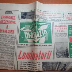 magazin 9 decembrie 1972-uzina de tevi roman,ilie nastase si ion tiriac