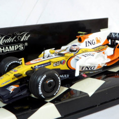 Minichamps F1 Renault R28 ( No.6 ) showcar 2008 1:43