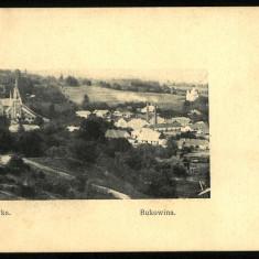 Carte Postala Veche Necirculata BUKOWINA Bucovina KACZYKA Cacica, Fotografie