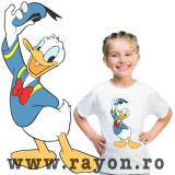 Cumpara ieftin Tricou Copii Personalizat , Bumbac – Donald D.