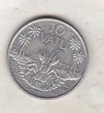 bnk mnd Vanuatu 10 vatu 1999 , fauna  marina