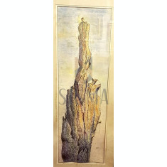 "TABLOU, DUMITRESCU MARIAN, (N 1948), ""IN CHEILE DAMBOVITEI"""
