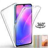 Husa Crystal protectie 360° fata + spate pentru Huawei P Smart 2019
