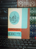 BROSURA PERIOADA COMUNISTA : CUNOASTE-TI CEC-ul ? , 1986