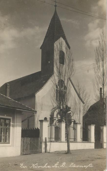 România, Zărneşti, carte poştală ilustrată, circulată intern, 1926