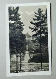 Deva Parcul si Prefectura, ilustrata veche necirculata