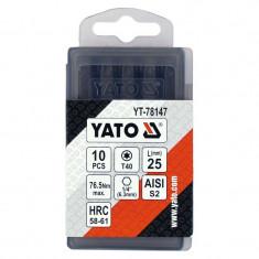 YATO Set 10 biti Torx T40 x 25 mm 1/4