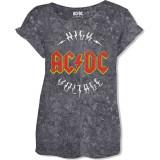 Tricou Dama AC/DC: Logo High Voltage
