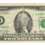 Bancnota -USD- Statele Unite ale Americii 2 Dolari $ - 2003 / A017