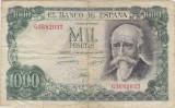 SPANIA 1000 PESETAS 1971(1974) UZATA