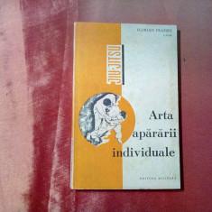 ARTA APARARII INDIVIDUALE - Florian Frazzei - 1970, 158 p. cu figuri in text, Alta editura
