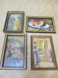Set 4 tablouri mici