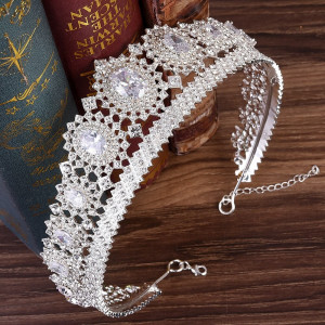 Diadema / coroana / tiara mireasa Calipso