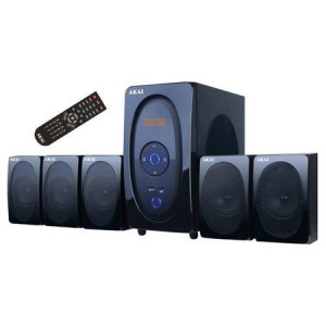 Boxe AKAI SS025A-5117, 5.1, 80W, bluetooth, telecomanda, noi