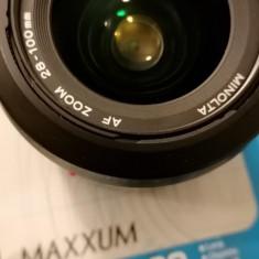 obiectiv foto  AF ZOOM 28-100/3,5-5,6 (D) Minolta- compatibil SONY A