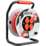 Yato - YT-8106 - Prelungitor electric, 30 m, 4 prize, tambur