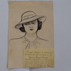 Autograf Hortensia Papadat Bengescu: catre Smara.