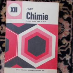 Chimie - manual pentru clasa a douasprezecea