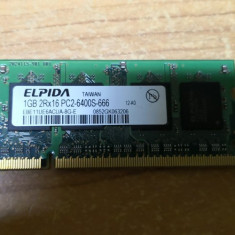 Ram Laptop Elpida 1GB DDR2 PC2-6400S EBE11UE6ACUA-8G-E