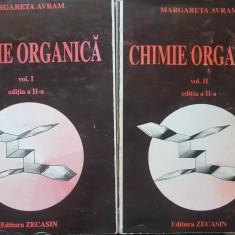 CHIMIE ORGANICA - Margareta Avram (2 volume)