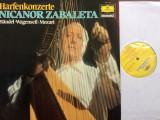 Nicanor zabaleta handel wagenseil mozart harfenkonzerte disc vinyl muzica harpa, VINIL, Deutsche Grammophon