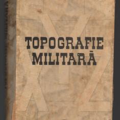 C8784 TOPOGRAFIE MILITARA - DRAGOMIR VASILE