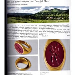 Aurul si Argintul antic al Romaniei carte de lux uriasa 3 kg MNIR 2014