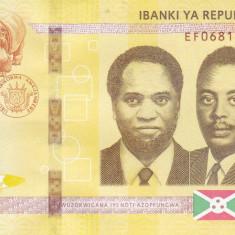 Bancnota Burundi 10.000 Franci 2018 - PNew UNC