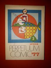 PERPETUUM COMIC  × 1977 format mic foto