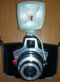 Aparat foto cu film si blitz EURA Ferrania - de colectie