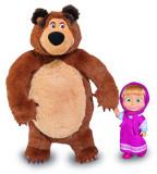 Set papusa Masha si Ursul 25 cm