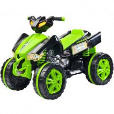 ATV electric pentru copii Raptor Toyz RPT1V, Verde