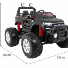 Masinuta electrica Ford Ranger Monster 4x4, negru