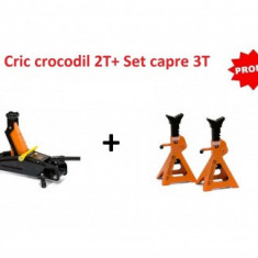 Cric crocodil 2T + Set capre 3T