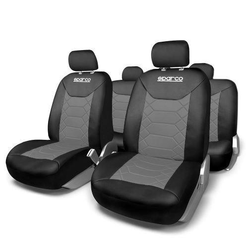 Huse Scaune Auto Daihatsu Move Sparco Sport Gri Negru 11 Buc