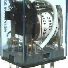 Releu 12V, 10A, LY2N-J, 35x26x20mm - 128485