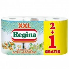Prosoape de hartie Regina XXL , 3 role, 2 straturi