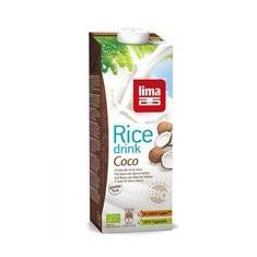 Lapte de Orez cu Cocos Bio Lima 1L Cod: 5411788046930